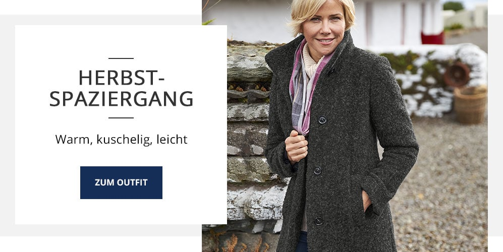 Outfit Herbst-Spaziergang | Walbusch